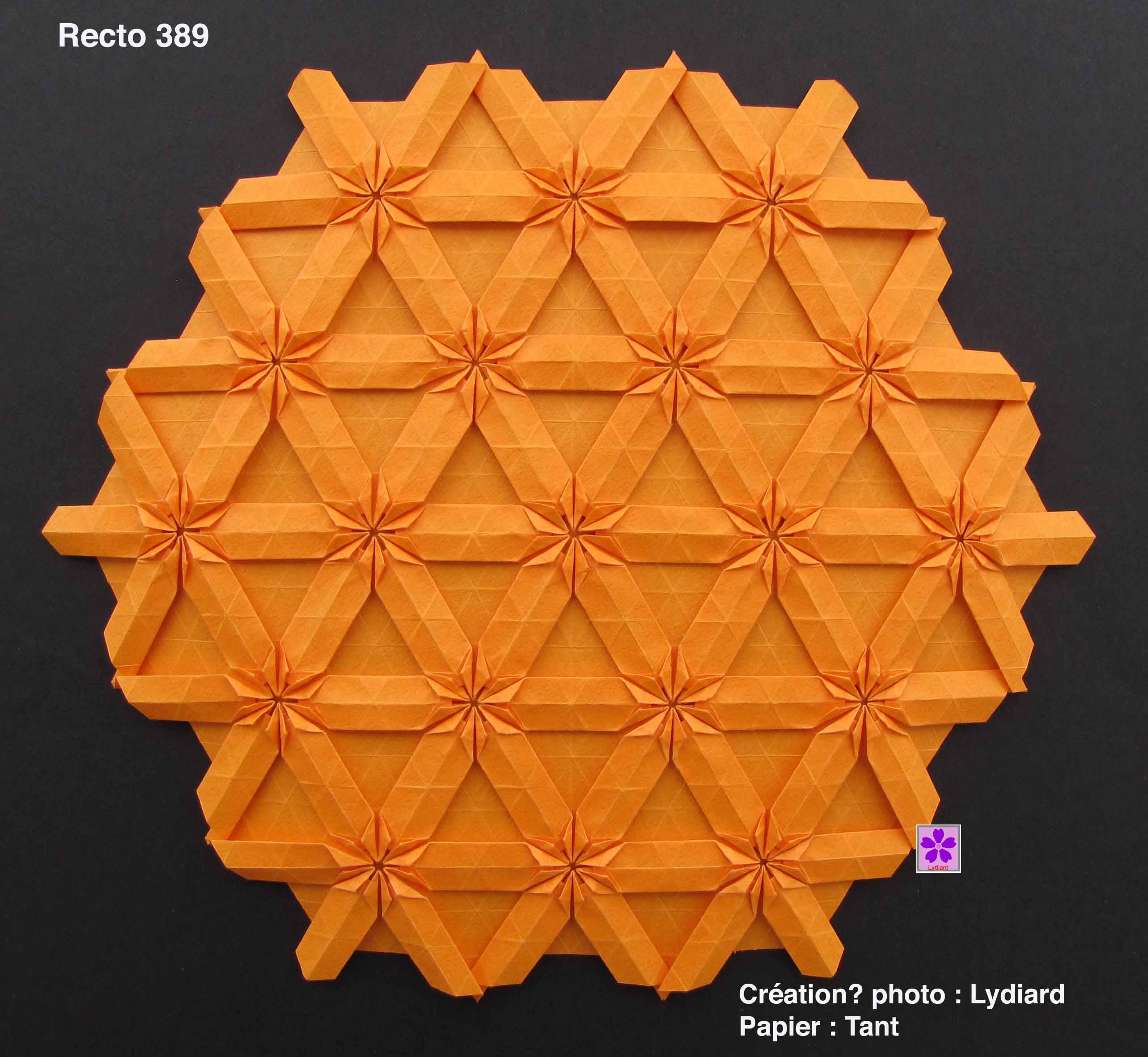origami teselado
